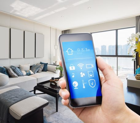 Smart home in mobile phone